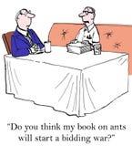 Author royalty free illustration