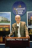 Author photographer Joseph Sohm. Speaking from the National Press Club in Washington D.C Stock Photography