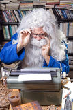 Author senior Stock Image
