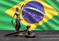 Authority. Background banner brazil brazilian business constitution court royalty free stock photos