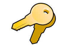 Authorization keys icon Stock Photography