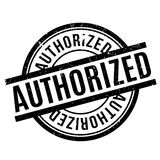 Authorized rubber stamp Stock Photos