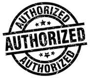 Authorized stamp. Authorized grunge vintage stamp isolated on white background. authorized. sign vector illustration
