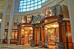 Authors Bookstore. A very creative and inviting storefront at the Minneapolis/St. Paul Airport royalty free stock photography