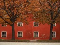 Authumn i Köpenhamnen Danmark Arkivbild