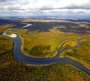 Authumn nos Ural do norte Foto de Stock Royalty Free