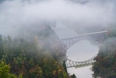 Fukushima First Bridge View point Stock Photo