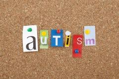 autism Fotografia Stock