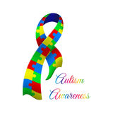 Autism awareness day Royalty Free Stock Photos