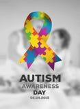 Autism awareness design vector Stock Images