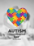 Autism awareness design vector Stock Photos
