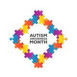 Autism awareness design vector Royalty Free Stock Image
