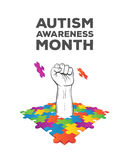 Autism awareness design vector Stock Photo