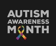 Autism awareness design vector Stock Image