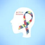 Autism awareness icon abstract illustration Stock Photo