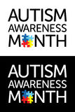Autism Awareness Month Royalty Free Stock Image