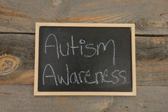 Autism Awareness in school Royalty Free Stock Image