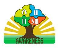 Autism Awareness T-shirt Typography, Vector Stock Photo