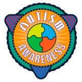 Autism Awareness T-shirt Typography, Vector Stock Photography