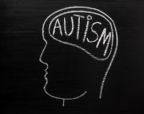 Autism Concept Royalty Free Stock Images