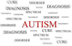 Autism concept Royalty Free Stock Photos