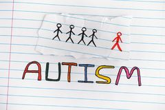 autism Desorden del espectro del autismo Fotos de archivo libres de regalías