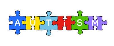 Autism Puzzle Concept Stock Photos