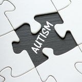 Autism Puzzle Stock Photo