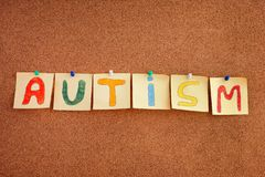 Autism spectrum disorder Stock Images