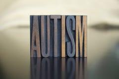 Autisme royalty-vrije stock foto