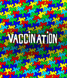 Autisme et vaccination Photos stock