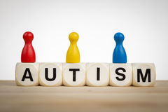 Autismsakkunnigbegrepp Arkivbild