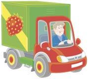 Autista di camion Fotografia Stock Libera da Diritti