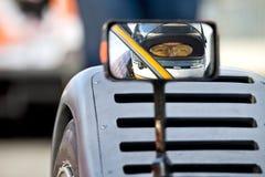 Autista di macchina da corsa Fotografie Stock