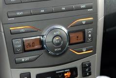 Autmatic Car Air Conditioner Stock Photos