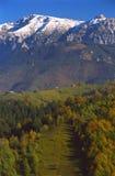 Autmn dans les montagnes Photographie stock