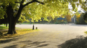 Autmn Park Lizenzfreies Stockfoto
