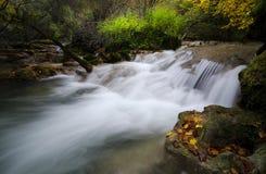 Autmun rzeka Zdjęcie Royalty Free