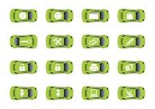 Auto ícones 3 do Web ilustração royalty free