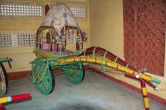 AUTO ŚWIATOWEGO rocznika SAMOCHODOWY muzeum, AHMEDABAD, GUJARAT, INDIA, 13 2018 Styczeń Carlton Kareciany koń Obraz Stock