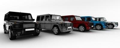 auto vektor illustrationer