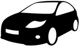 Auto. Strichzeichnung. vektor abbildung. Illustration von automobil ...