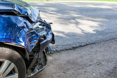 Auto accident Royalty Free Stock Photos