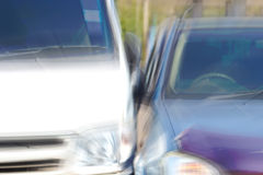 Auto accident. Stock Photos