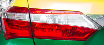 Auto achterlamp Stock Afbeelding