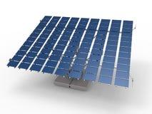 Auto adjust solar panel Stock Photography