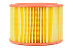 Auto air filter isolated Stock Image