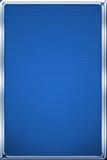 Auto alluminium blue background Stock Images
