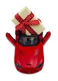 Auto als Geschenk für einen Feiertag Stockfotos