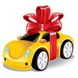 Auto als gift aan u Royalty-vrije Stock Foto
